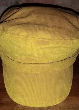 Котоновая кепка new look