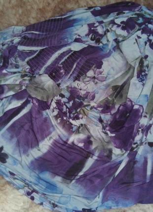 Фиалковое платье в пол от izabel