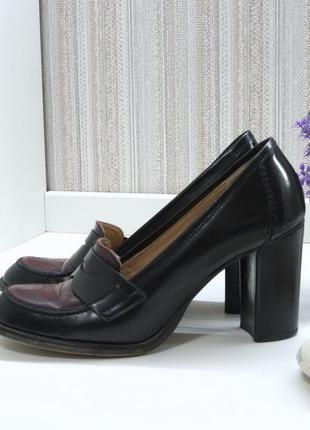 Туфли estro, натуральная кожа