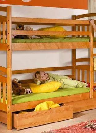 Кровати из натурального дерева от производителя.