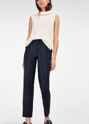 Стильные брюки в полоску от new look