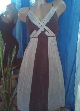 Платье-миди шёлковое от коокаї