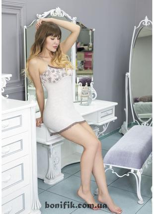 """Женская ночная сорочка с открытой спинкой """"Minory"""" арт. 760"""