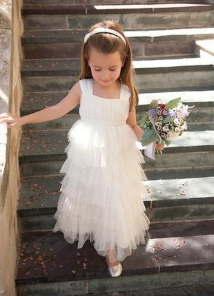 Милое платье fionda pearce 104-112 см 4-5 лет