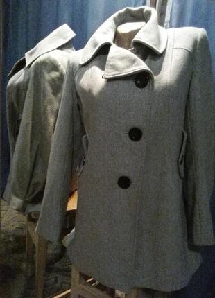 Классное пальто-косуха от river island