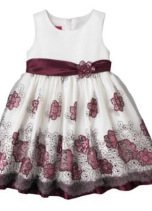 Красивое нарядное платье princess faith 7 лет