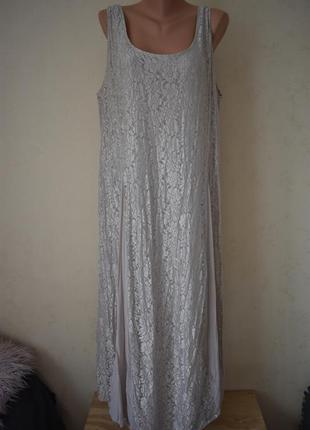 Кружевное платье большого размера together