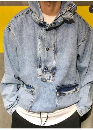 Анорак джинсовый