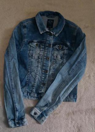 Пиджак джинсовый варёнка размер 6