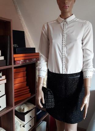 Легкая блуза/рубашка mini&berry! новая!