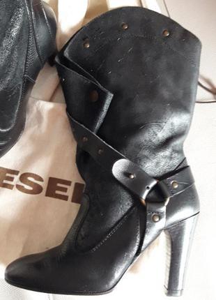 Sale!!! diesel! сапоги/полусапожки/ботинки/ботильоны! оригинал!