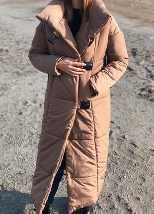 Распродажа теплый зимний пуховик