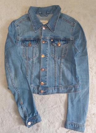 Пиджак джинсовый размер 8-10 jacket