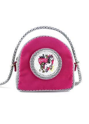 Детская розовая сумочка