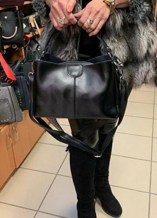 Кожаная сумка шкіряна женская жіноча клатч кожаный