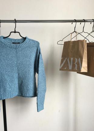 Стильный свитер кофта джемпер terranova в стиле zara
