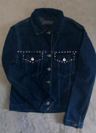 Пиджак джинсовый размер 8 george