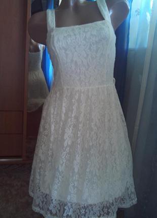 Кружевное ажурное платье от atmosphere