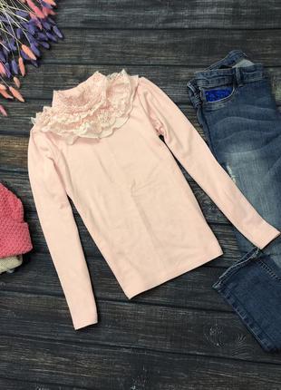 Розовый гольфик на девочку рост 150 см 11-12 лет