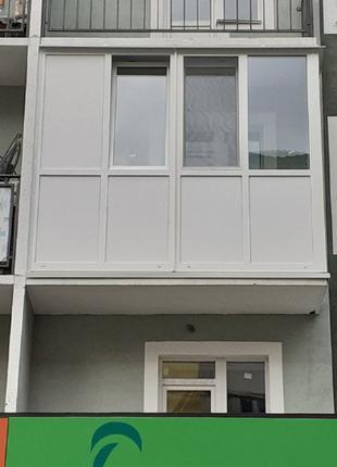 Окна, двери, балконы