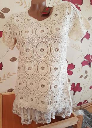 Потрясающая блуза-туника