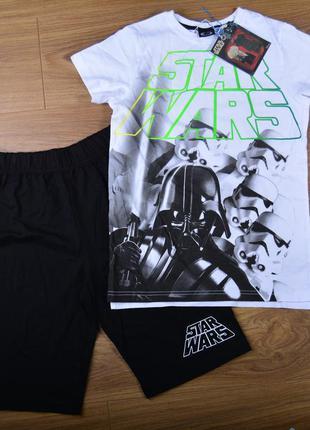 """Костюм """"звёздные воины"""" для мальчика футболка шорты"""