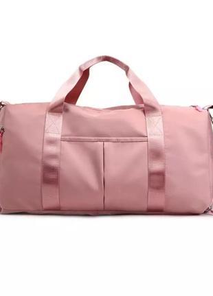 Спортивная сумка. женская сумка для тренировок, в бассейн.доро...