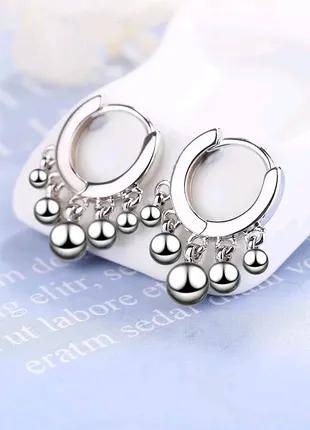 Очень красивые серьги в наличии ,серебро 925 проба,есть 2 вида
