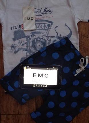 Новая футболка итальянского бренда emc