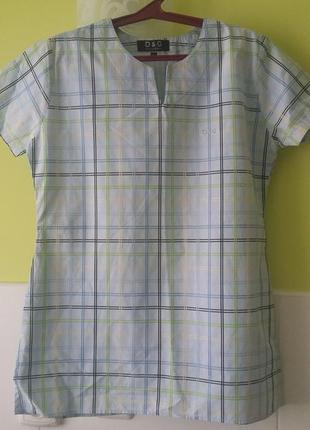 Рубашка с разрезами от d&g