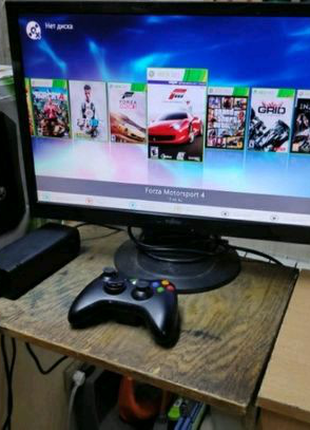 Xbox 360 slim (LT+ 3.0 прошивка)