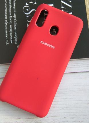 Чехол Silicone Case Samsung A20/A30