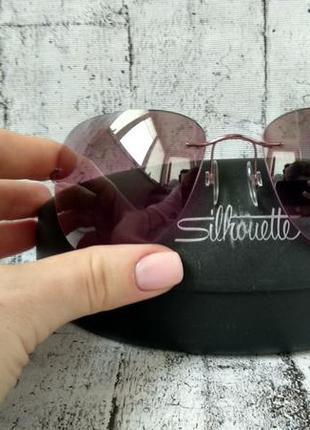 Брендовые солнцезащитные очки silhouette titan made in austria