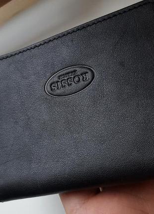 Изящный кожаный кошелек rossis швейцария