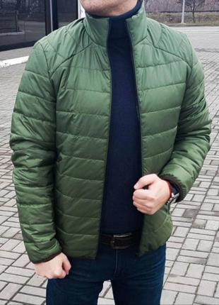 Стильная куртка ветровка бомбер мужской