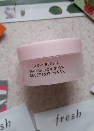 Арбузная ночная маска glow recipe watermelon sleeping mask