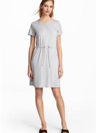 Платье футболка  от h&m