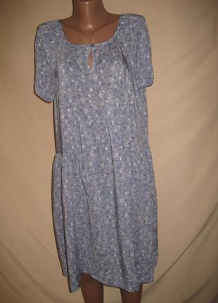 Вискозное платье спенсер р-р16