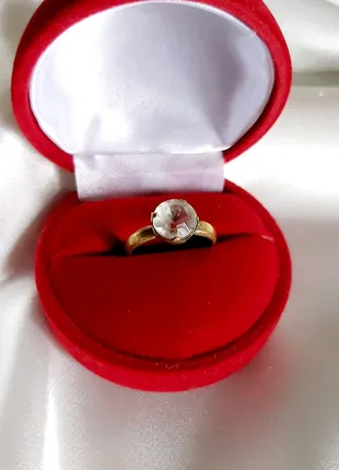 Винтажное кольцо СССР женское