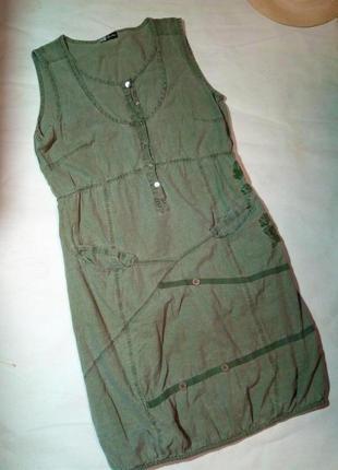 Эксклюзивное, стильное джинсовые платье.