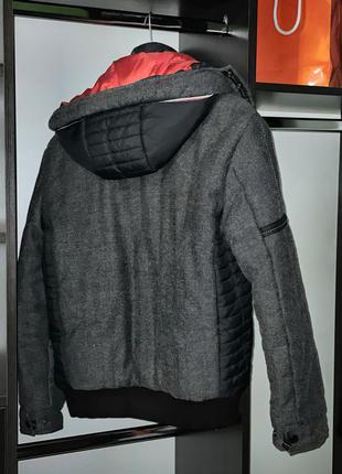 Мужская зимняя куртка на синтепоне теплая (нет обмена)