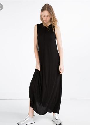 Длинное платье в пол от zara