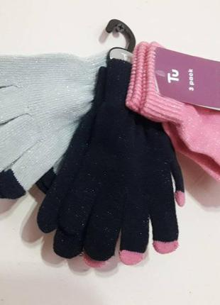 Красивый набор перчаток от tu