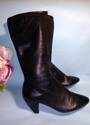 Сапоги демисезонные spm shoes 39 кожаные