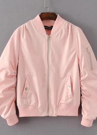🌺пудровая куртка, ветровка  next + свитшот в подарок
