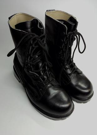 Берці/ботинки/сапоги/англія.шкіра/кожа39 р.