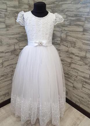 Бальное платье для ваших принцесс💓на рост 7-10лет лет