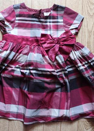 Красивое платье 12-18мес состояние отличное