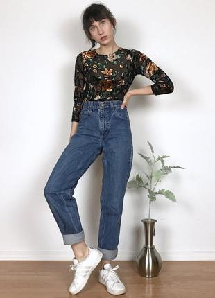 Новые джинсы mom carhartt