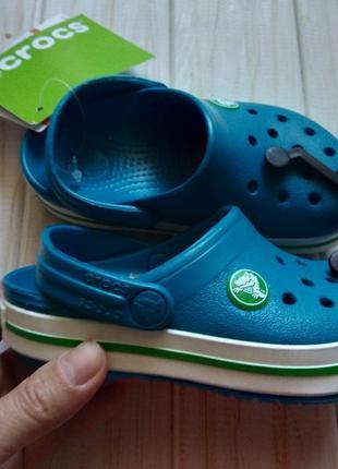 Новые  crocs размер с 8